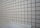 川口市クリニック 外壁タイル バイオ洗浄