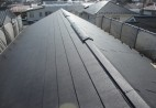 練馬区 瓦屋根をガルバリウム製屋根材に葺き替え